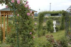 梨園のバラ園